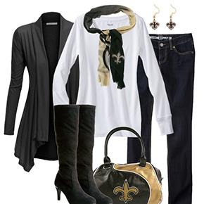 New Orleans Saints Fall Fashionista