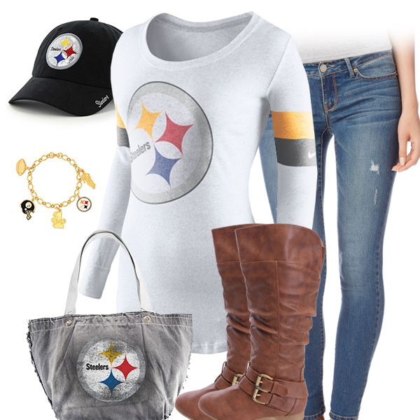 Pittsburgh Steelers Inspired Outfit