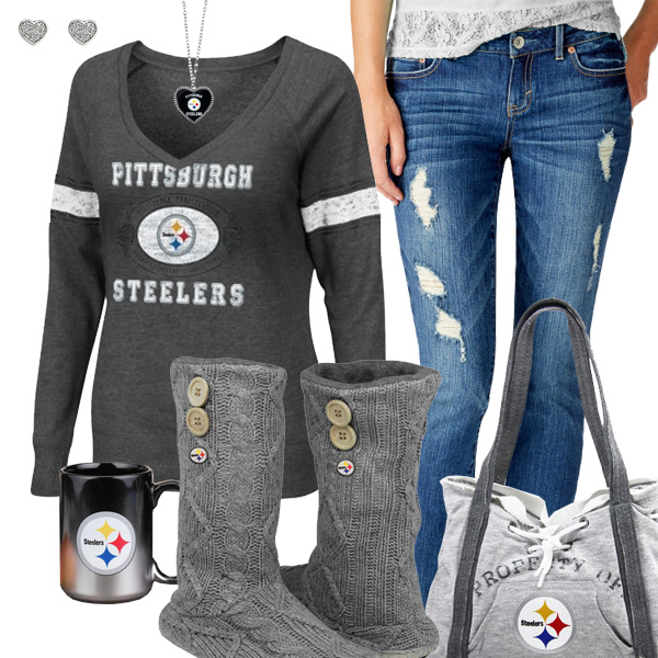 0713d937cd0 Cozy Sunday Steelers Outfit