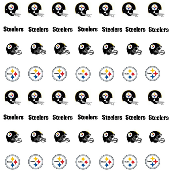 Pittsburgh Steelers Nail Stickers