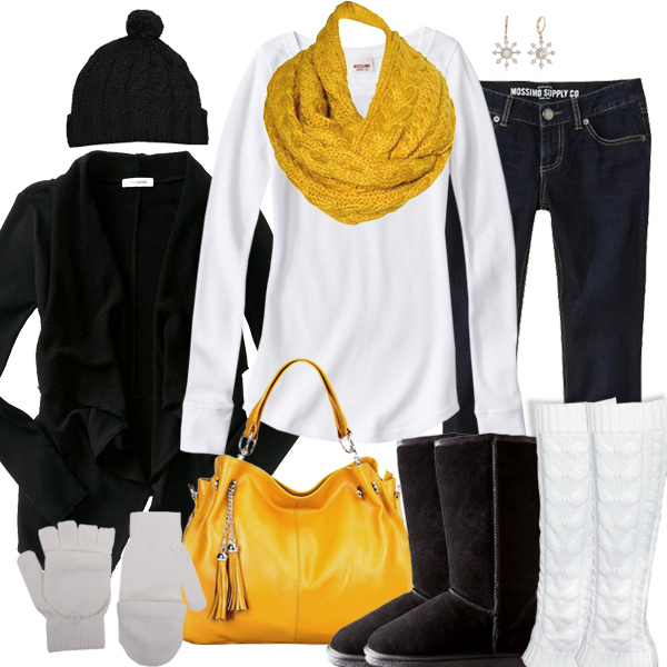 Pittsburgh Steelers Inspired Winter Fashion