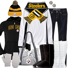 Pittsburgh Steelers Winter Wonder Fan