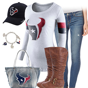 Houston Texans Casual Cutie