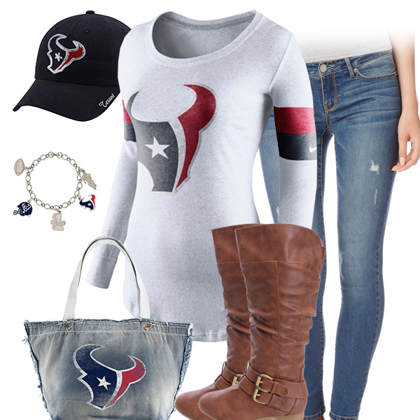 Houston Texans Inspired Outfit