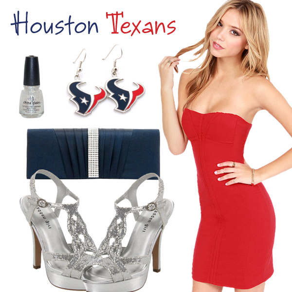 Houston Texans Inspired Date Look