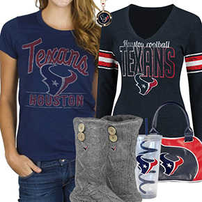 Houston Texans Fan Gear