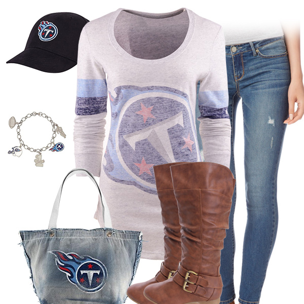 Tennessee Titans Inspired Outfit