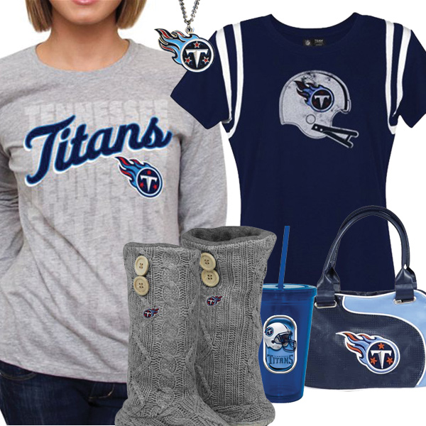 Cute Titans Fan Gear