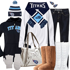 Tennessee Titans Winter Wonder Fan
