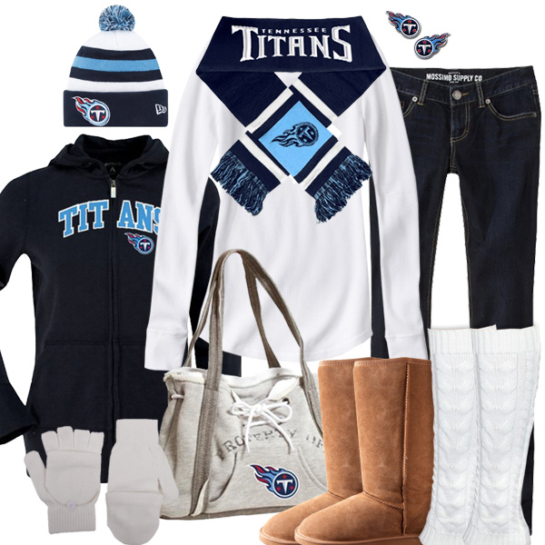 Tennessee Titans Inspired Winter Fashion
