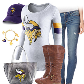 Minnesota Vikings Casual Cutie