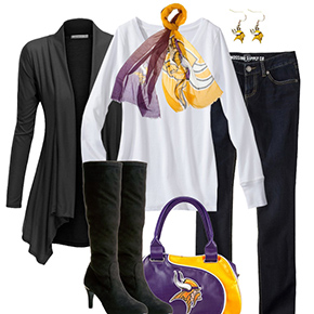 Minnesota Vikings Fall Fashionista