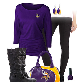 Minnesota Vikings Leggings Love