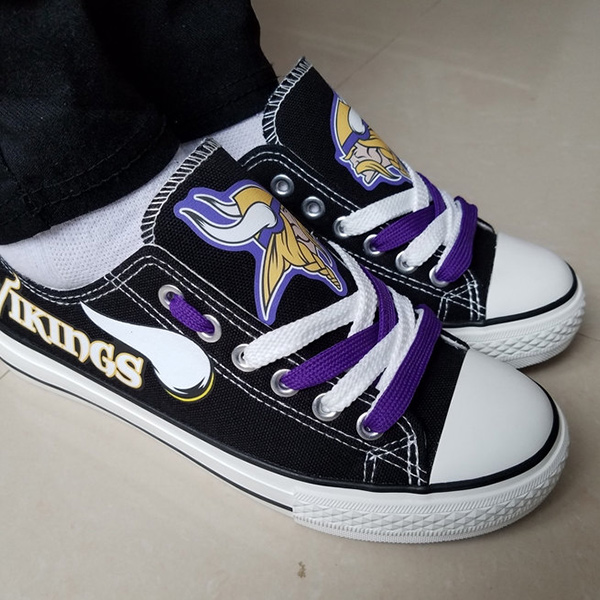 Minnesota Vikings Converse Sneakers