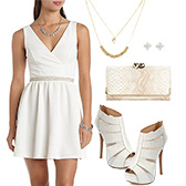 Chic White Dress