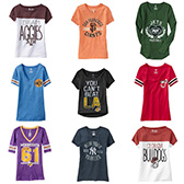 Cute Sports Team Tees