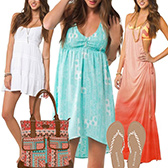 Surfer Girl Dresses