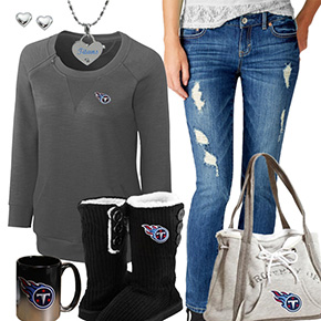 Cute Titans Fan Outfit