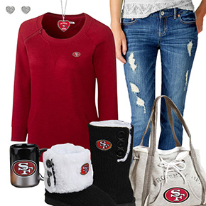 Cute 49ers Fan Outfit