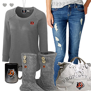 Cozy Sunday Bengals Outfit