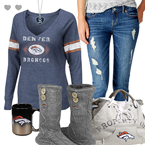 Cute Broncos Fan Outfit