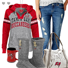 Cute Buccaneers Fan Outfit