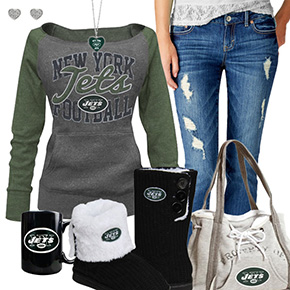 Cute Jets Fan Outfit