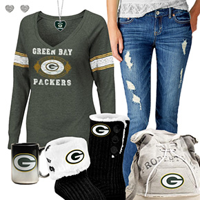 Cute Packers Fan Outfit