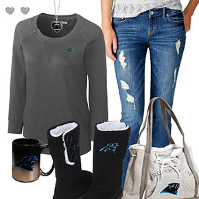 Cute Panthers Fan Outfit