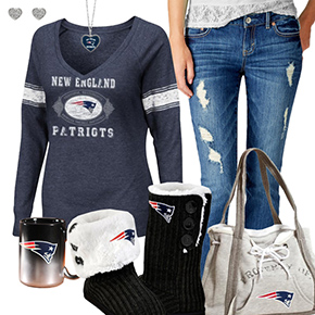 Cute Patriots Fan Outfit