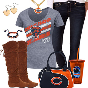 Cute Chicago Bears Fan Outfit