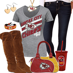 Cute Kansas City Chiefs Fan Outfit
