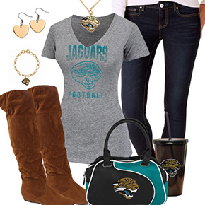 Cute Jacksonville Jaguars Fan Outfit