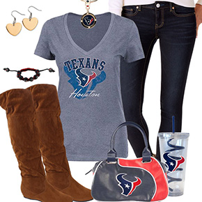Cute Houston Texans Fan Outfit