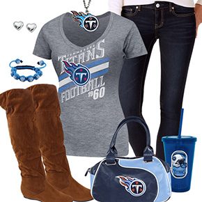 Cute Tennessee Titans Fan Outfit