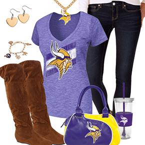 Cute Minnesota Vikings Fan Outfit