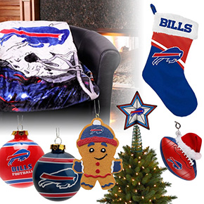 Buffalo Bills Christmas Ornaments