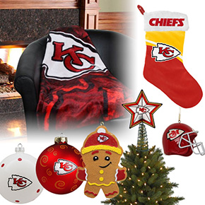 Kansas City Chiefs Christmas Ornaments