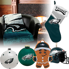 Philadelphia Eagles Christmas Ornaments