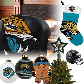 Jacksonville Jaguars Christmas Ornaments