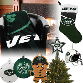New York Jets Christmas Ornaments