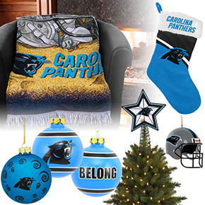 Carolina Panthers Christmas Ornaments