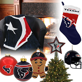 Houston Texans Christmas Ornaments
