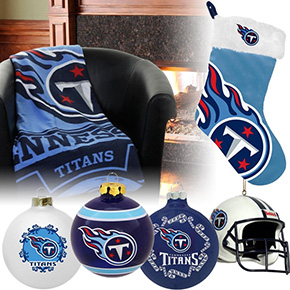 Tennessee Titans Christmas Ornaments