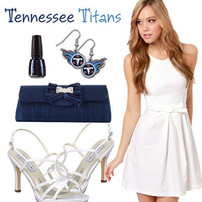 Tennessee Titans Inspired Date Look
