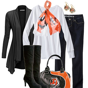 Cincinnati Bengals Inspired Fall Fashion