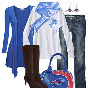 Buffalo Bills Inspired Fall Fashion