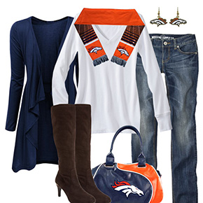 Denver Broncos Inspired Fall Fashion