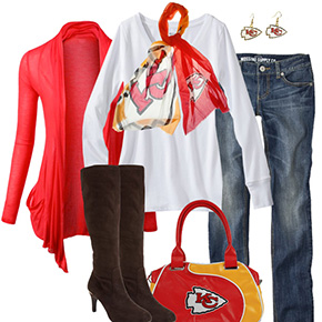 Kansas City Chiefs Inspired Fall Fashion