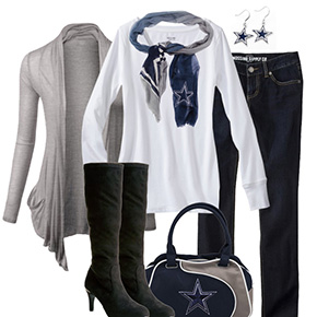 Dallas Cowboys Inspired Fall Fashion